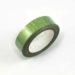 Ruban adhésif pailleté - Vert