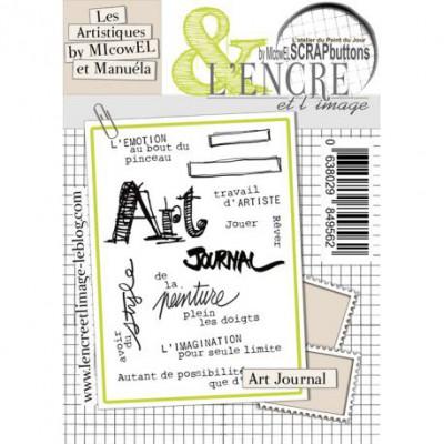 Tampons L'Encre & l'Image - Les Artistiques de MIcowEL & Manuéla - Art Journal