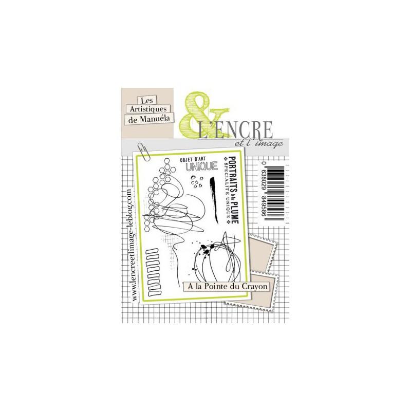 Tampons L'Encre & l'Image - Les Artistiques de Manuéla - A la Pointe du Crayon