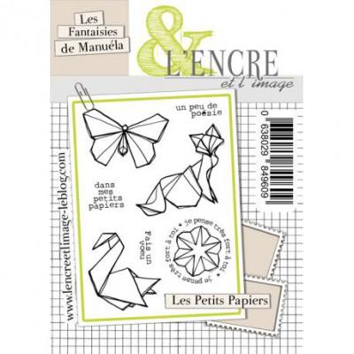 Tampons L'Encre & l'Image - Les Fantaisies de Manuéla - Les Petits Papiers