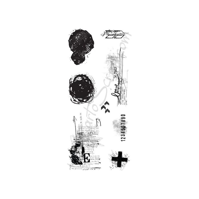 Tampons CartoScrap - Grunge-ology