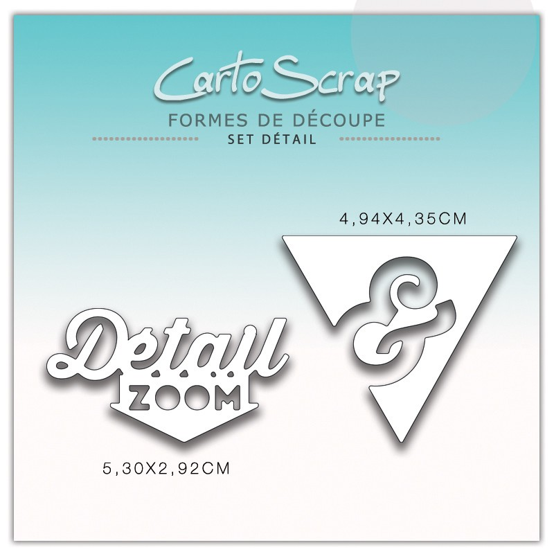 Dies CartoScrap - Set Détail
