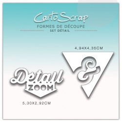 Dies CartoScrap - Set Détail