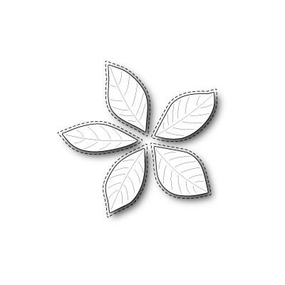 Die Poppystamps - Stitched Poinsettia