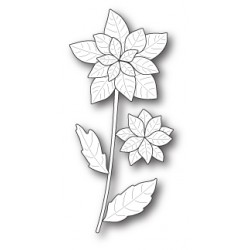 Die Poppystamps - Poinsettia Stem