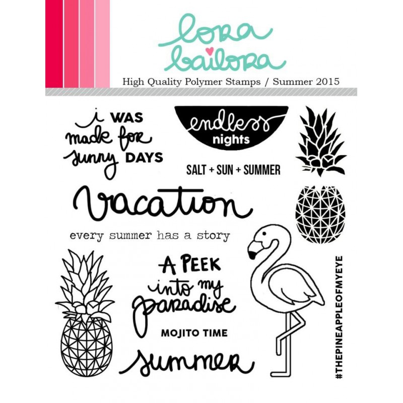 Tampons clear Lora Bailora - Summer 2015