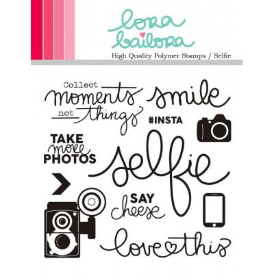 Tampons clear Lora Bailora - Selfie