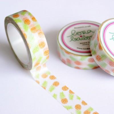 Washi Tape Lora Bailora - Ananas