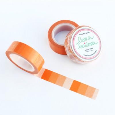Washi Tape Lora Bailora - Dégradé orange
