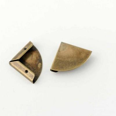 Coin bronze arrondi 22 mm à l'unité