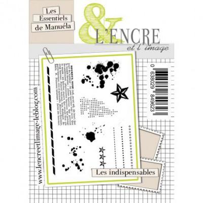 Tampons L'Encre & l'Image - Les Essentiels de Manuéla - Les indispensables