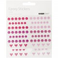 Stickers epoxy Kaiser - Ronds & Formes - Candy