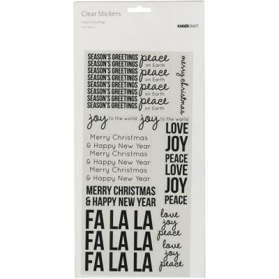 Stickers transparents Kaiser - Seasons Greetings
