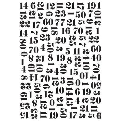 Pochoir de gaufrage KaiserCraft - Numbers