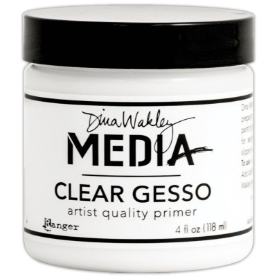 Gesso clear (transparent) Dina Wakley 118 mL