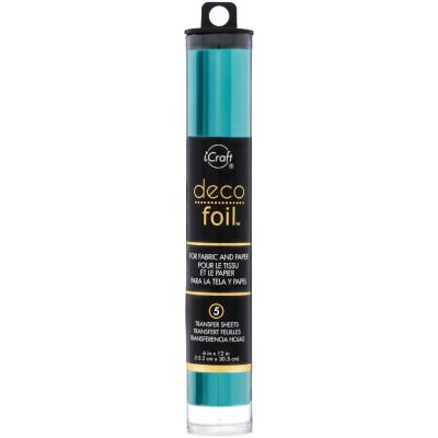 Deco Foil - Feuilles transfert métallisées - Turquoise