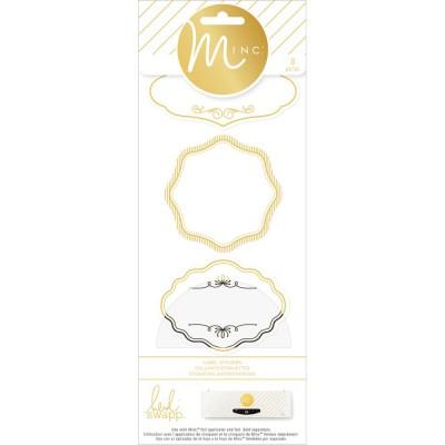 Labels / Etiquettes autocollants Minc
