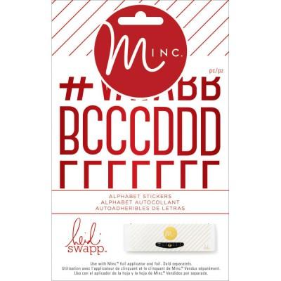 Stickers alphabets Minc - Pois