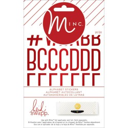 Stickers alphabets Minc - Pois