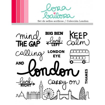 Tampons clear Lora Bailora - London