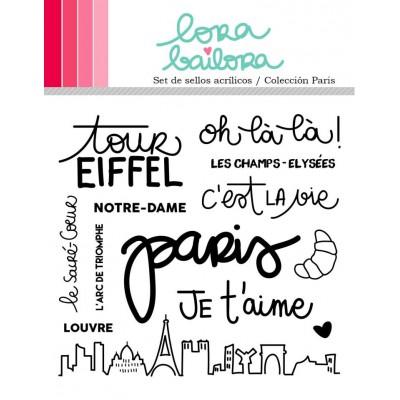 Tampons clear Lora Bailora - Paris