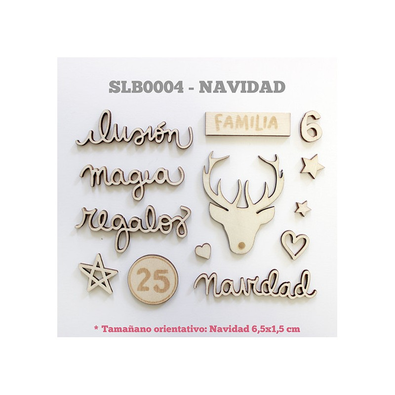 Wood Veneers Lora Bailora - Navidad