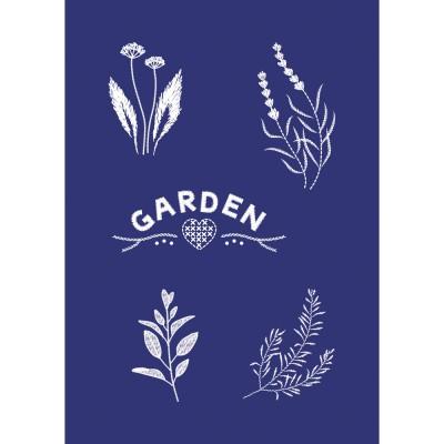 Pochoir de sérigraphie Rayher - Garden
