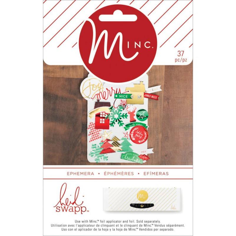 Die-cuts Ephemeras Minc - Christmas