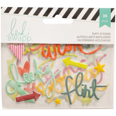 Stickers Puffy - Heidi Swapp - Phrases