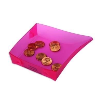 Bac récupérateur de poudre - Tiny Tray - Rose