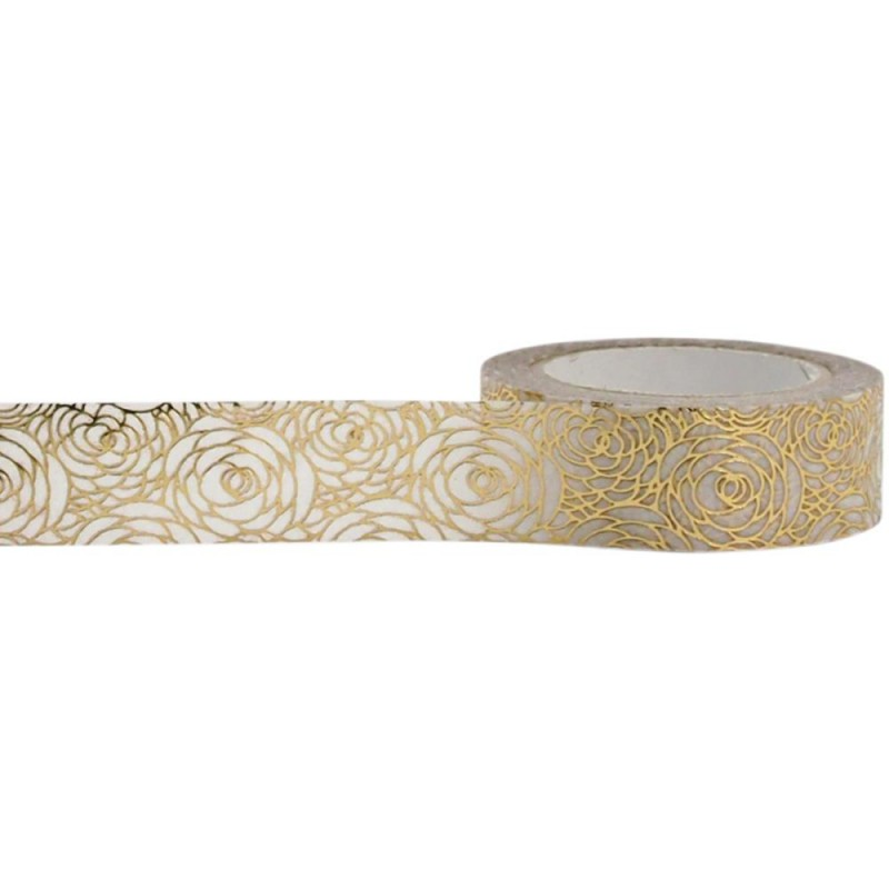 Foil Tape - Gold Rose 15mm