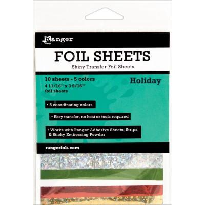 Foil Sheets Ranger - Feuilles transfert métallisées - Holiday