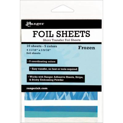 Foil Sheets Ranger - Feuilles transfert métallisées - Frozen
