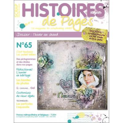 Magazine Histoires de Pages N°65 - Hiver 2016