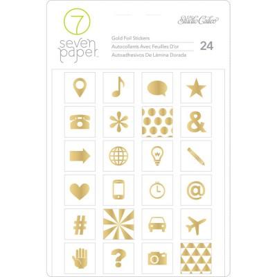 Stickers Amelia Foil Seven Paper