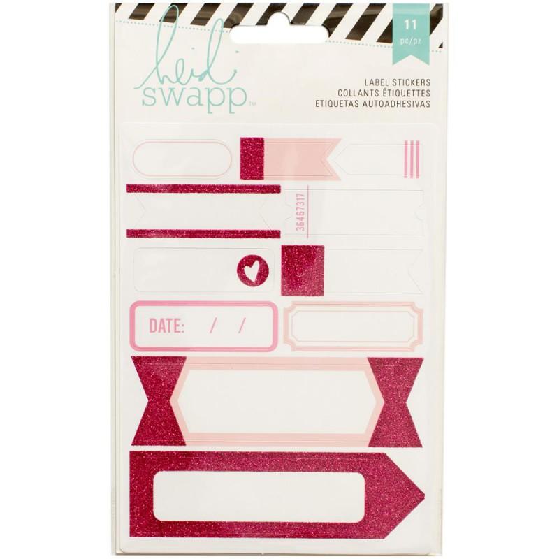 Stickers Labels Heidi Swapp - Rose
