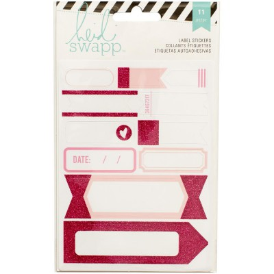 Stickers Labels Heidi Swapp - Rose