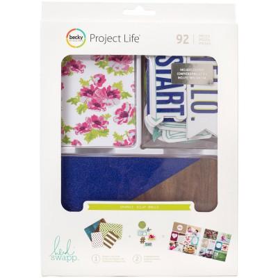Kit Cartes & Embellissements Project Life - Heidi Swapp Shimmer