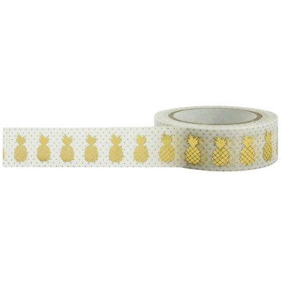 Foil Tape - Pineapples 15mm