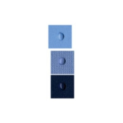 Mini brads Bazzill - Collection bleue