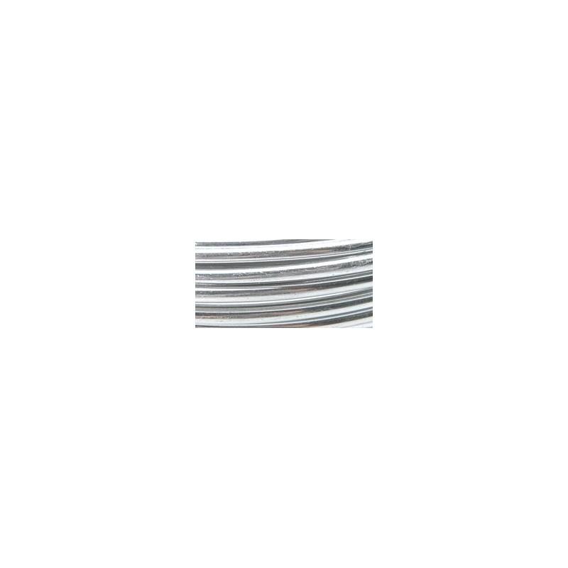 Fil aluminium argenté (4.6 m)