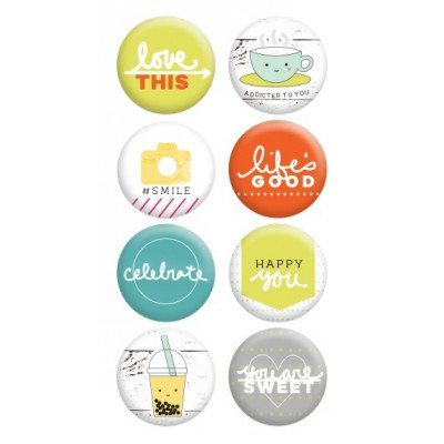 Badges Evalicious - Life's Sweet