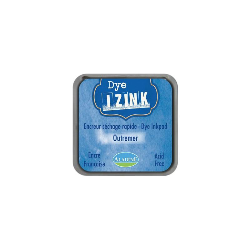 Pad Izink Dye - Outremer