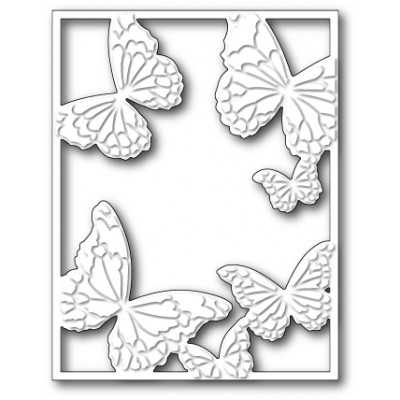 Die Memory Box - Hovering Butterfly Frame