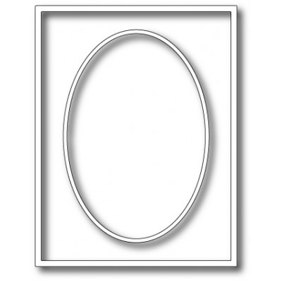 Die Memory Box - Oval Master Frame