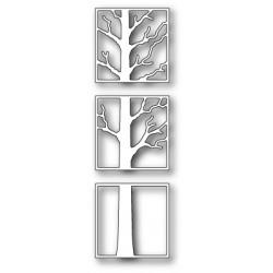 Die Poppystamps - Tree Triptych
