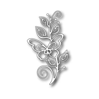 Die Poppystamps - Bellina Butterfly Stem