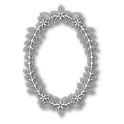 Die Poppystamps - Peppini Oval Frame