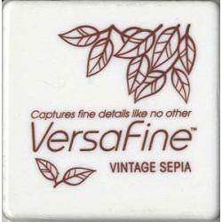 Mini Encreur Versafine Vintage Sepia