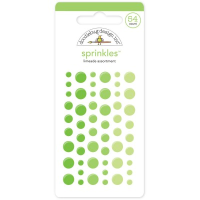 Sprinkles Dots - Limeade